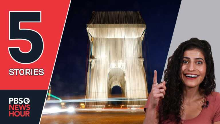 Arc de Triomphe artwork, recycled bricks and other stories you missed|5 STORIES|September 17, 2021