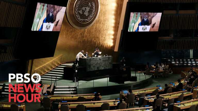 WATCH LIVE: 2021 United Nations General Assembly – Day 4