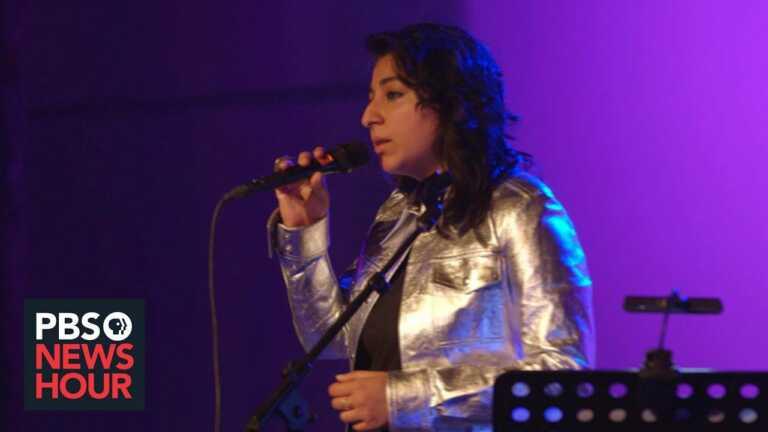 Pakistani musician Arooj Aftab's 'neo-Sufi' music blends Rumi with reggae and more