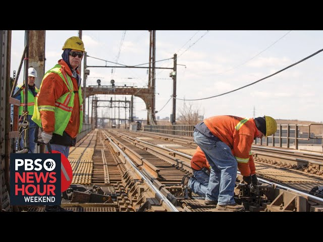 A delayed transportation infrastructure project moves forward in the Northeast Corridor
