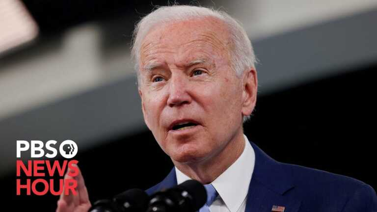 WATCH: Biden meets with Kenya's president to discuss financial transparency