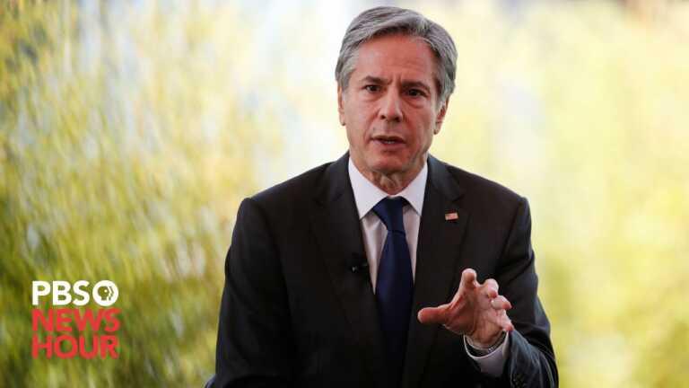 WATCH LIVE: Blinken, Colombia President Ivan Duque give remarks