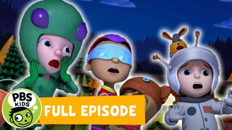 Ready Jet Go FULL EPISODE | Jet's First Halloween Parts 1 & 2 | PBS KIDS