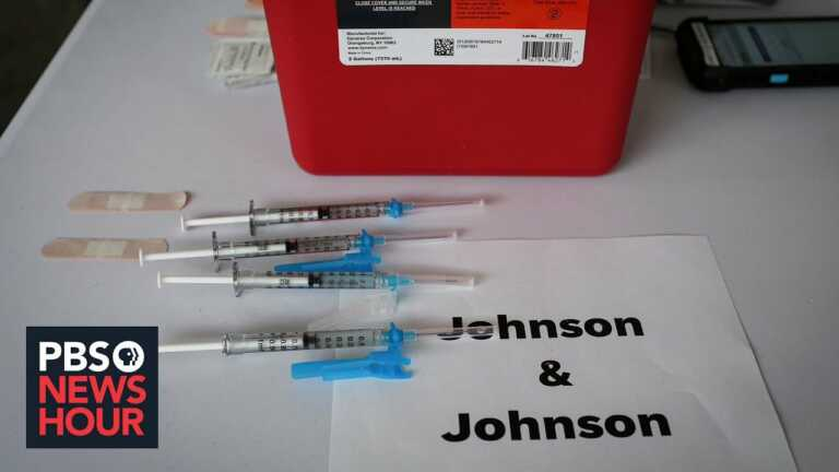 News Wrap: Johnson & Johnson asks FDA to approve its COVID-19 booster shot