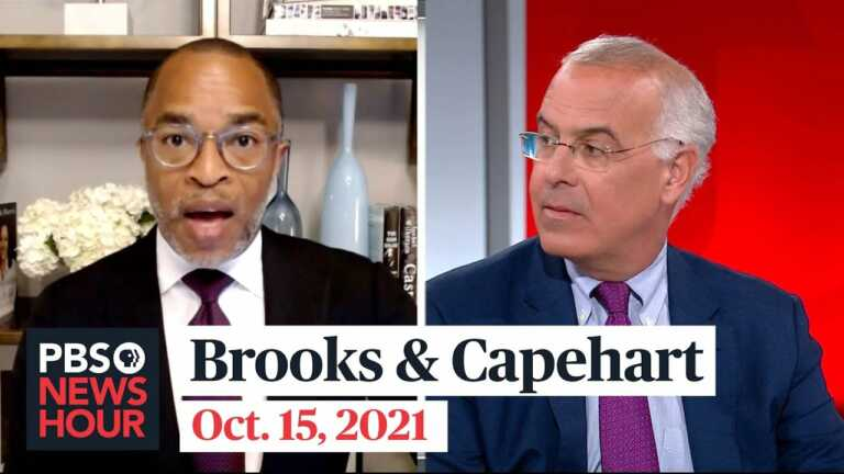 Brooks and Capehart on supply-chain bottlenecks, Republican pushback to vaccine mandates