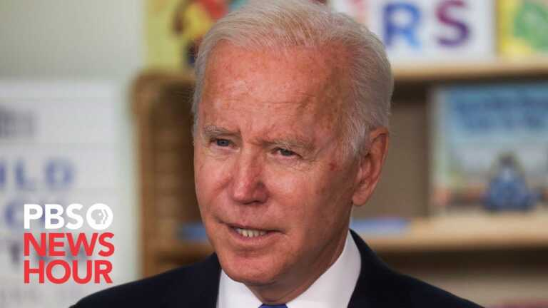 WATCH LIVE: Biden gives remarks on his Build Back Better agenda in Scranton, PA