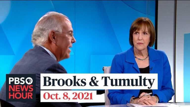 Brooks and Tumulty on debt, social spending, Jan. 6 investigation, Supreme Court