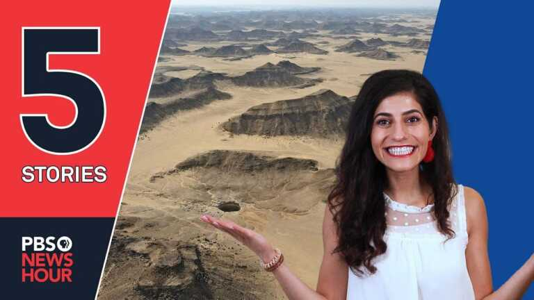 The 'Well of Hell,' fossil footprints and other stories you missed | 5 STORIES | Oct. 1, 2021