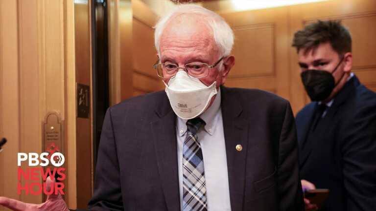 WATCH LIVE: Sen. Bernie Sanders holds a press conference