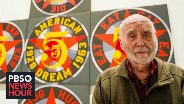 The complicated life and legacy of Robert Indiana, artist behind iconic 'LOVE' sculpture