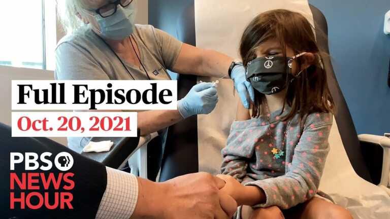 PBS NewsHour West live episode, Oct. 20, 2021