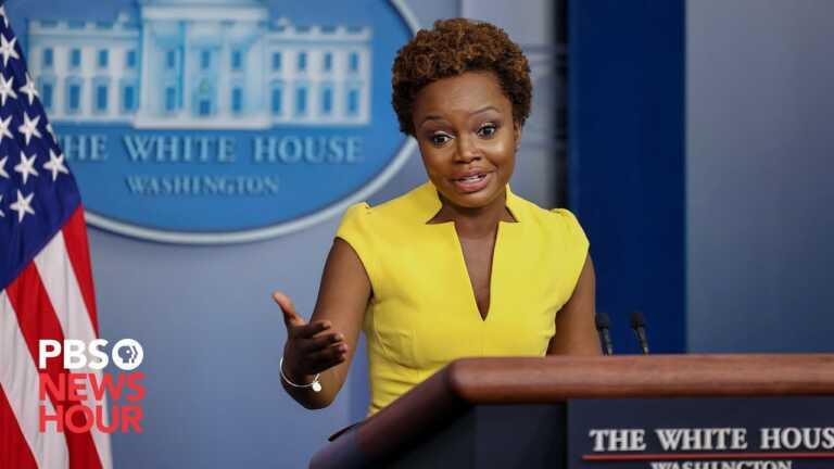 WATCH LIVE: Karine Jean-Pierre holds White House press briefing